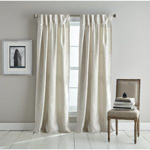 DKNY Plaza Room Darkening Pinch Pleat Curtains 84